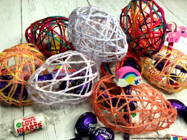 Wool Easter Egg Treats - Easter Crafts