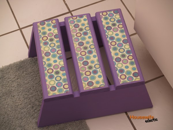 Housewife Eclectic Tutorial How To Make A Cute Step Stool