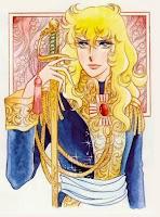 """Lady Oscar (ベルサイユのばら Berusaiyu no bara?, lett. """"Le rose di Versailles"""")  di Riyoko Ikeda"""