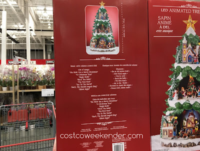 Costco 998610 - 20-inch LED Animated Tree with Music - your favorite Christmas songs