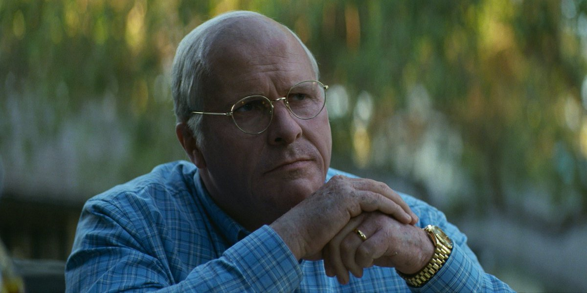 Christian Bale in Vice Movie