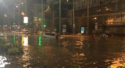 Киев снова затопило после мощного ливня