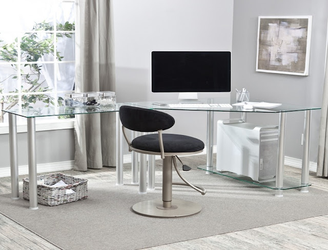 best buying cheap fitted home office furniture glass modern design for sale