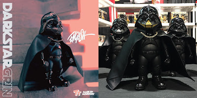 "Designer Con 2018 ""Darkstar Grin"" Star Wars Vinyl Figure by Ron English x Made By Monsters x Toy Tokyo"