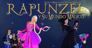 RAPUNZEL Y SU MUNDO MÁGICO