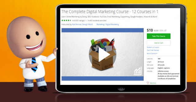 [95% Off] The Complete Digital Marketing Course - 12 Courses in 1| Worth 200$
