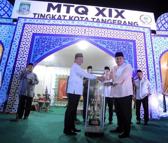 Kecamatan Cipondoh  Juara  Umum MTQ ke XIX