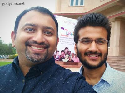 Speakers Dr Roshan Radhakrishnan and Dr Ashwani Parashar
