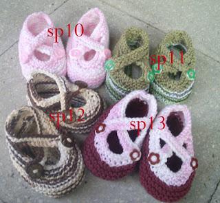 sepatu rajut bayi