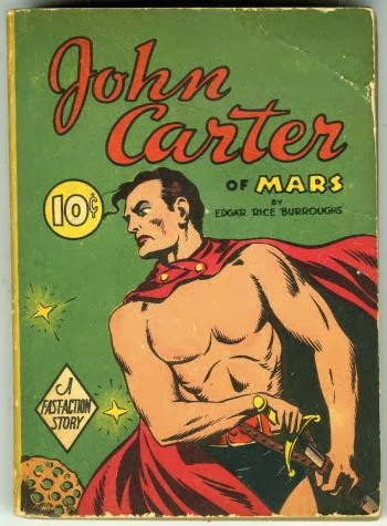 John Carter of Mars book cover