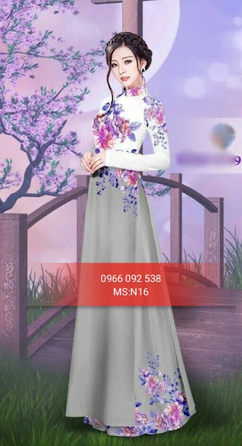 vải tằm lụa,vải áo dài cao cấp,vải thái tuấn,áo dài tết