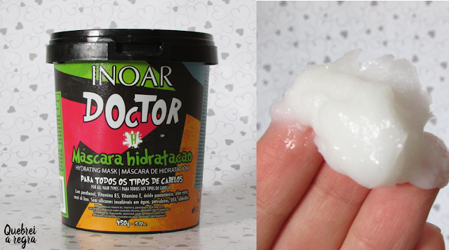 Shampoo Multifuncional e Máscara Hidratação Doctor - Inoar
