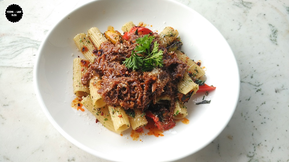 Rigatoni with confit lamb and smoked peppers @ The Cafe Felix Experience | MG Road | Bangalore