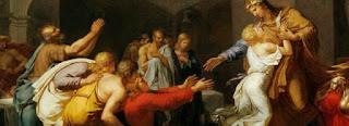 SCENE BIBLIQUE JOSEPH ET SES FRERES