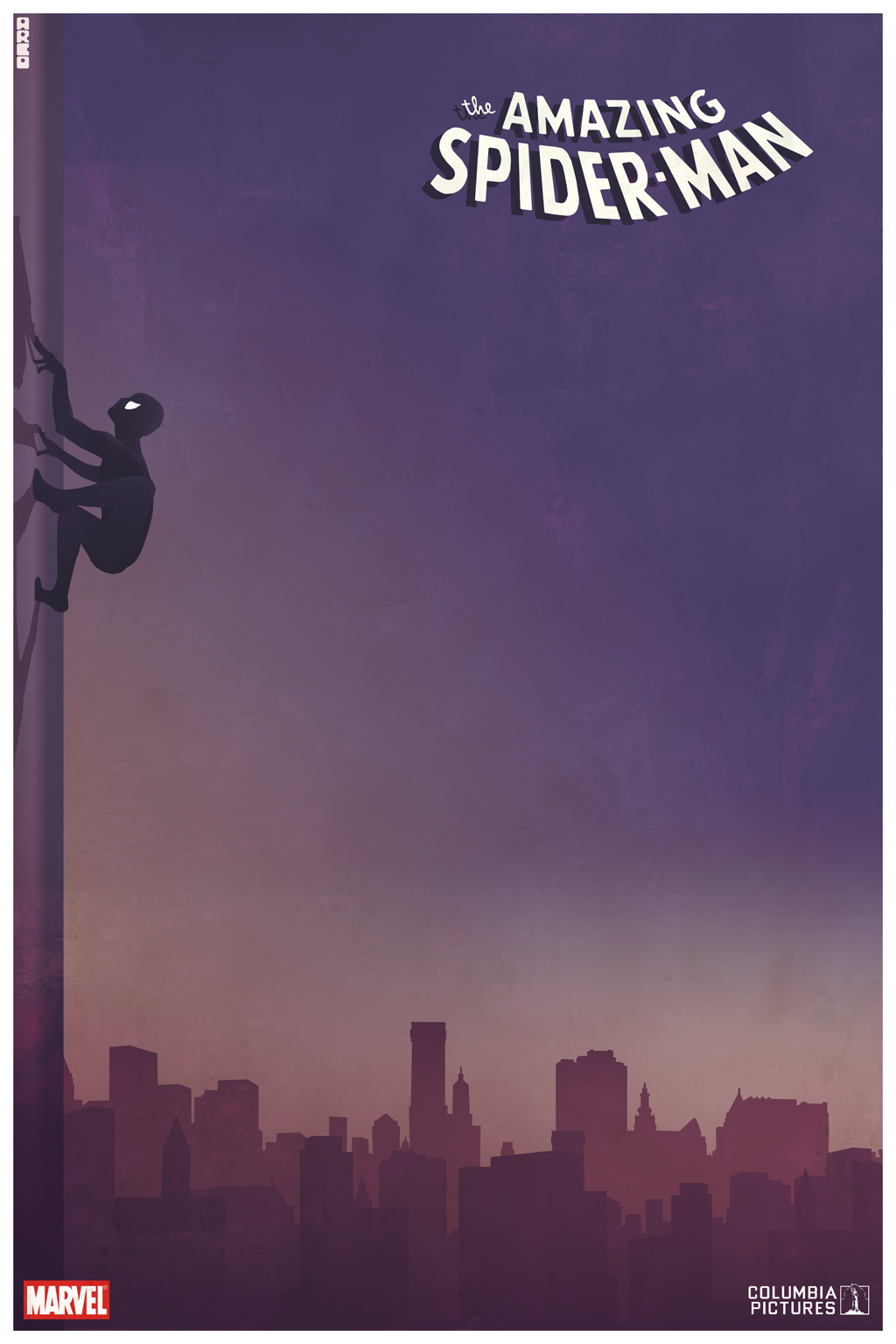 Spider Man Movie Poster Art