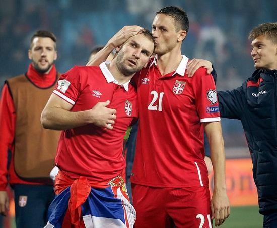 Matic giành giải cầu thủ xuất sắc nhất năm của Serbia.