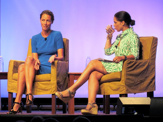 christy turlington soledad obrien blogher