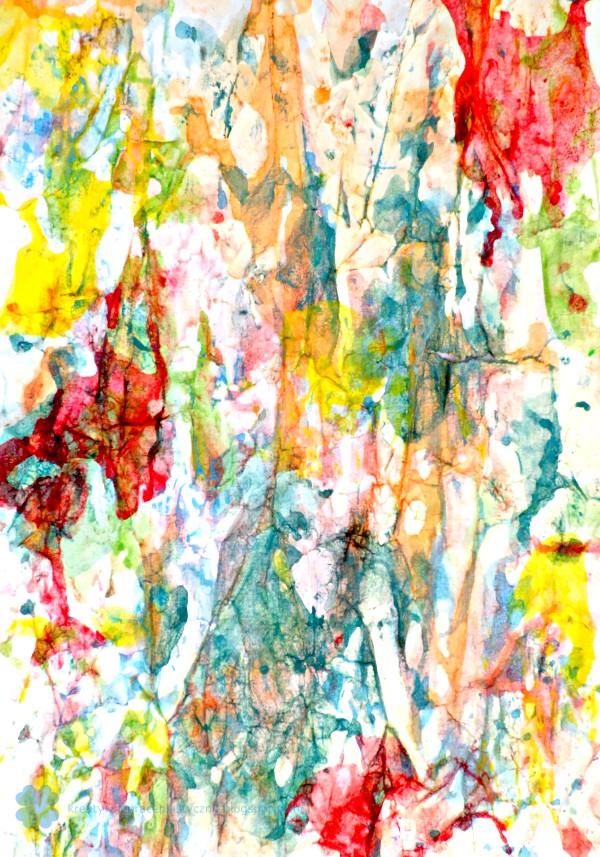 kolorowy papier artystyczny dla dzieci