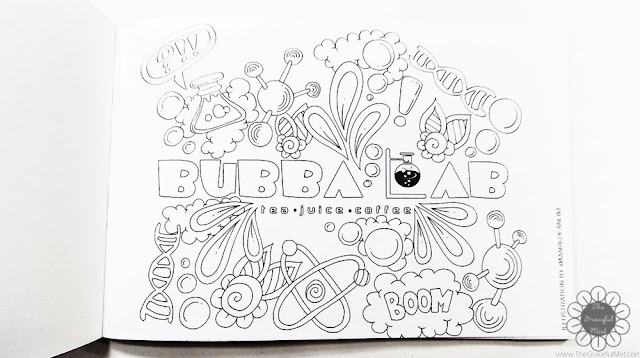 Bubba Lab Philippines - -Summer Lab'in Color Splash - Free Coloring Book (www.TheGracefulMist.com)