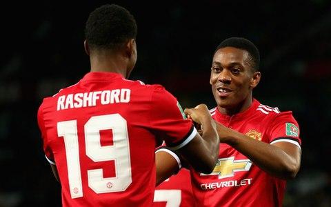 Manchester United Vs Burton Albion 4-1 EFL 2017