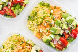 Buffalo Chicken Ranch Whole30 Meal Prep #vegan #recipevegetarian