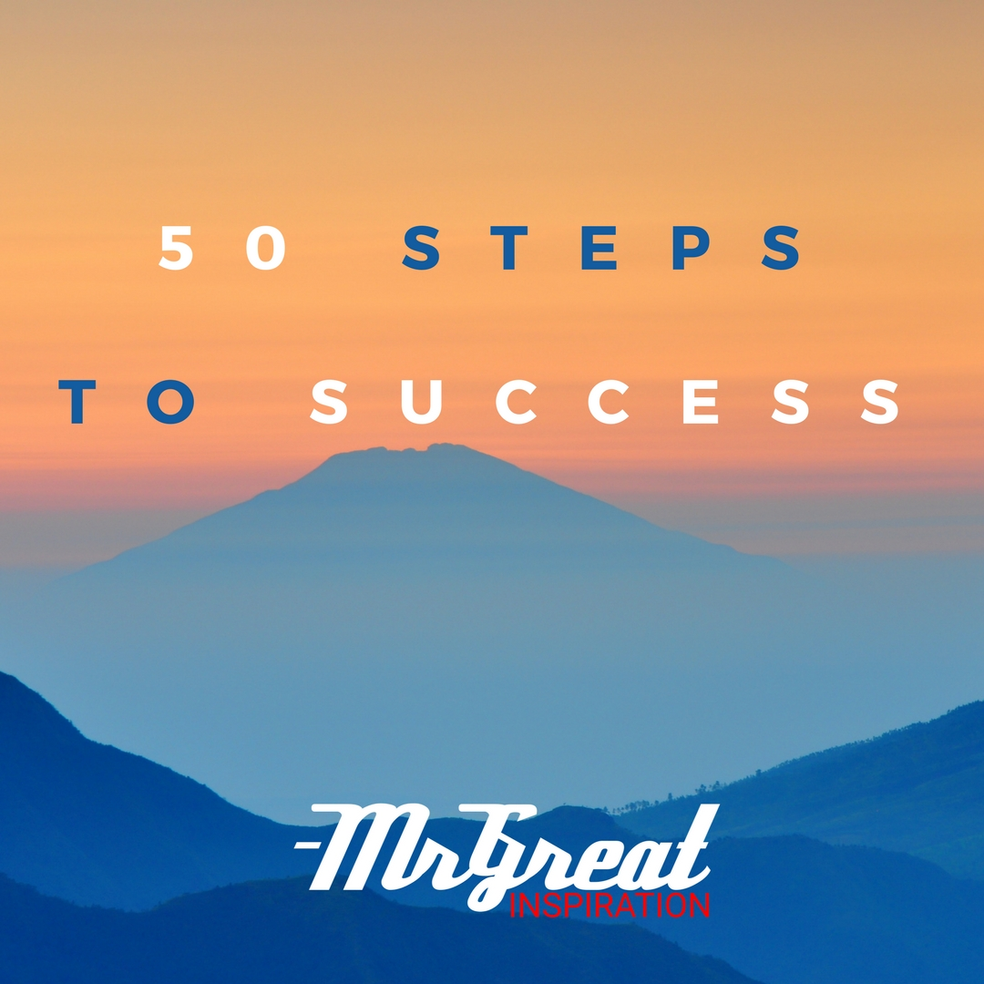 50 Steps To Success