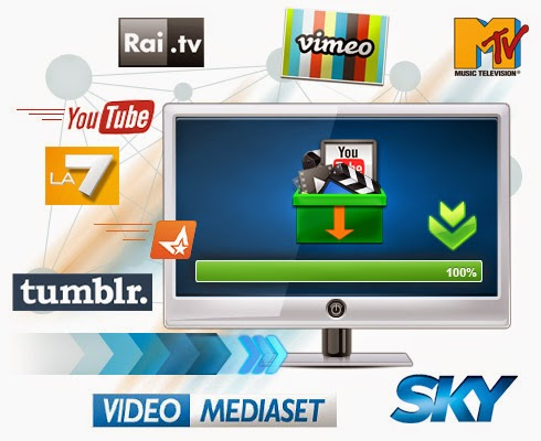 PastyLink: scaricare video da Mediaset, Rai.tv, MTV, La7, Sky e molti altri