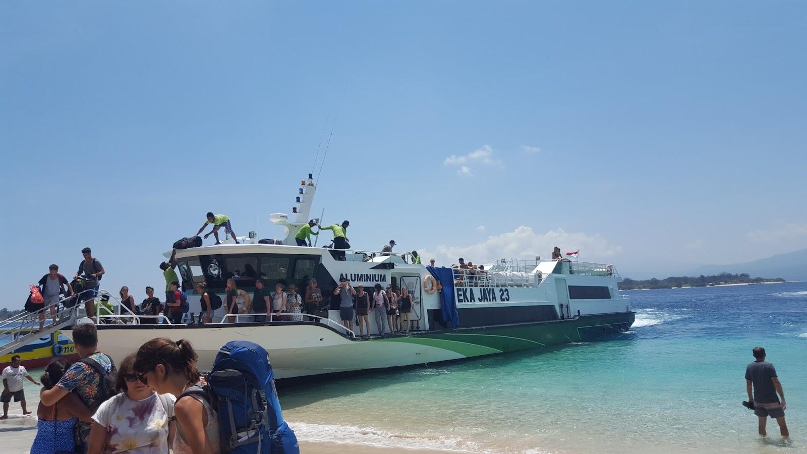 Ferry to Bali from Gili Trawangan