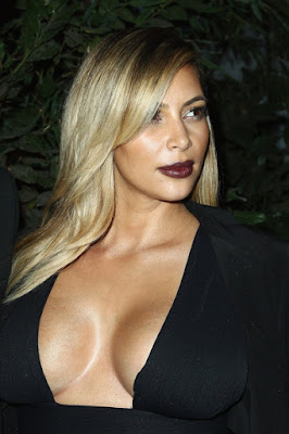 Celebrity Kim Kardashian Hairstyles