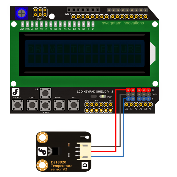 How to Hook Up the Arduino Temperature Meter