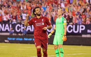 Manchester City vs Liverpool 1-2  Mo Salah - Joe Hart