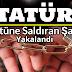 Atatürk büstüne saldıran şahıs Tutuklandı