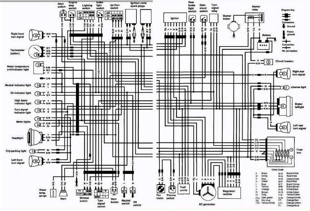 suzuki electrical wiring diagrams  basic guide wiring diagram •
