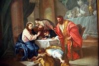 Resultado de imagen para Seis días antes de la Pascua, fue Jesús a Betania, donde vivía Lázaro, a quien había resucitado de entre los muertos.