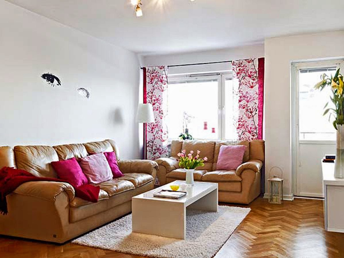 Simple Living Room Interior Design Wallpaper