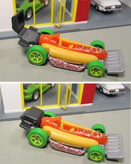 Hot Wheels Hot Dog Car Street Wiener