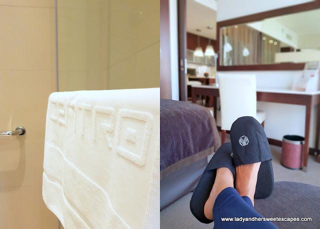 Centro Barsha room amenities