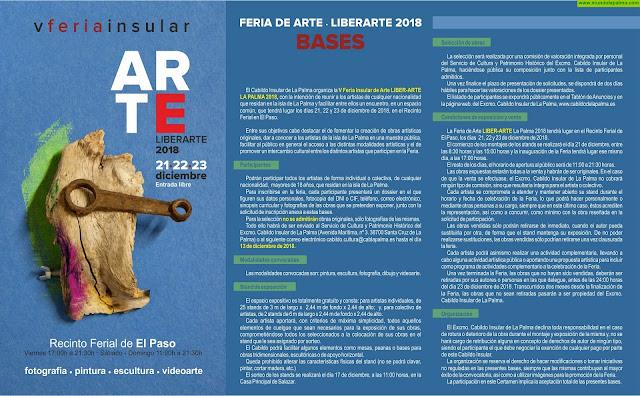 Bases Feria Insular 'Liberarte'