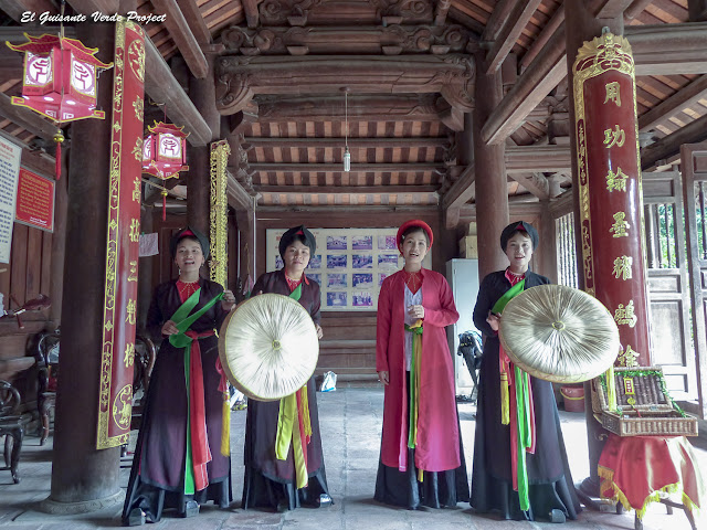 Cuarteto de cantantes de Quan Ho - Vietnam, por El Guisante Verde Project