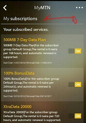 Unsubscribe From Any Plan On MTN