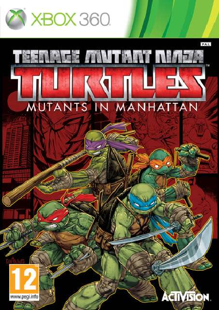 Teenage Mutant Ninja Turtles Mutants in Manhattan [Region