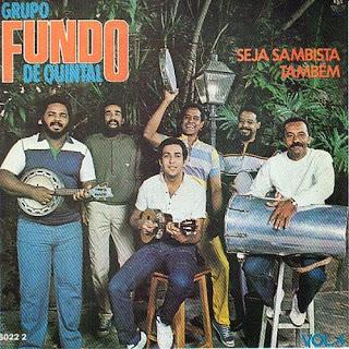 CD Fundo de Quintal - Seja Sambista Também 1984