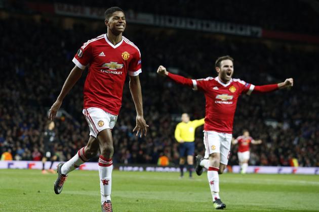 Marcus Rashford Amunisi Berbahaya Manchester United