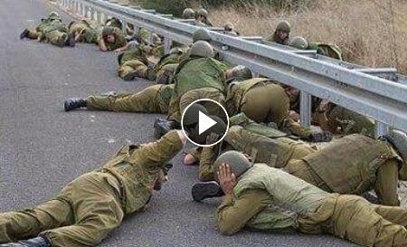 Tentara Zionis Israel Ternyata Pengecut? Simak Video Berikut