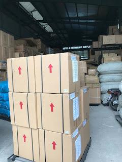 Lô minibar Homesun chuẩn bị xuất hàng đi Đà Nẵng
