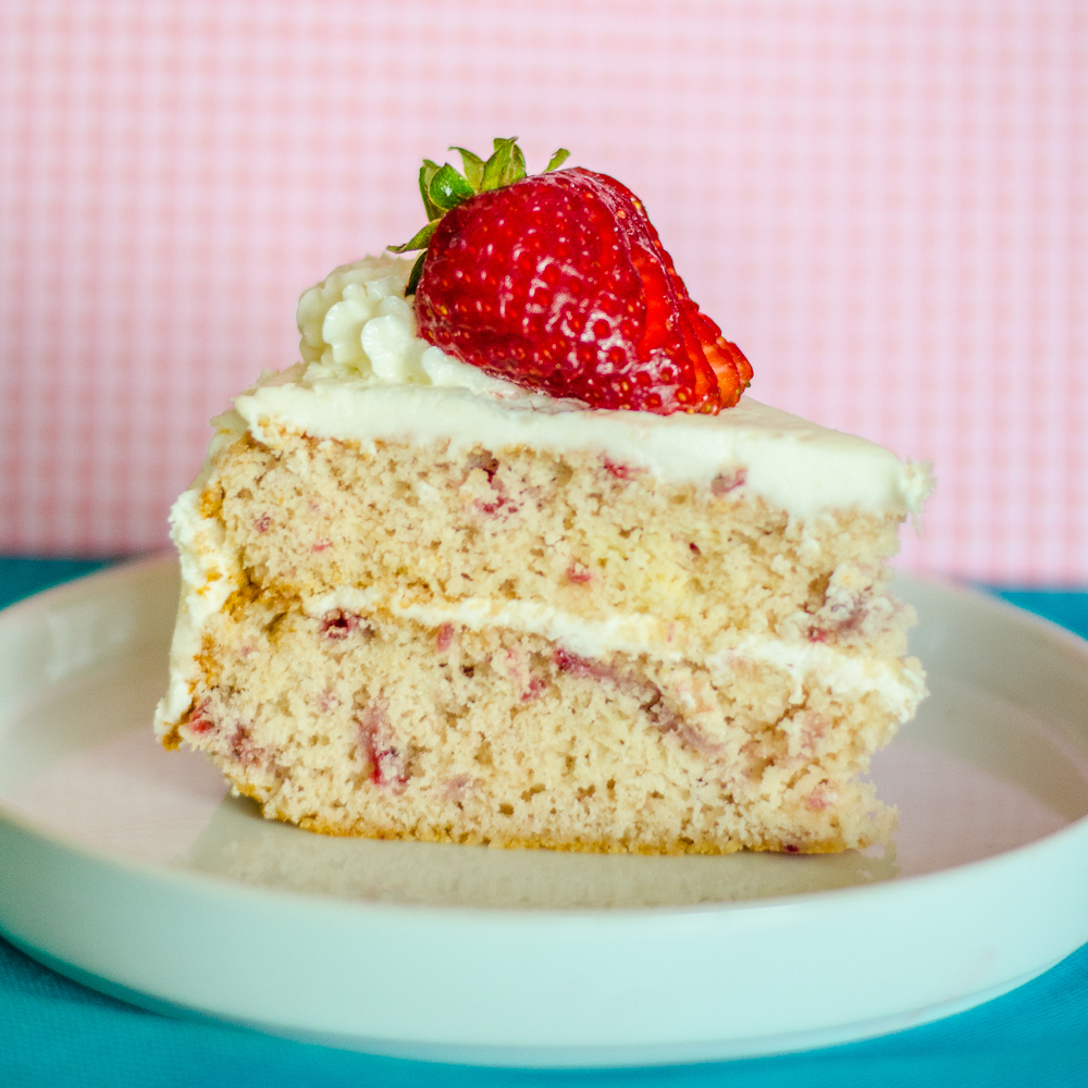 Cakes Strawberry Filling