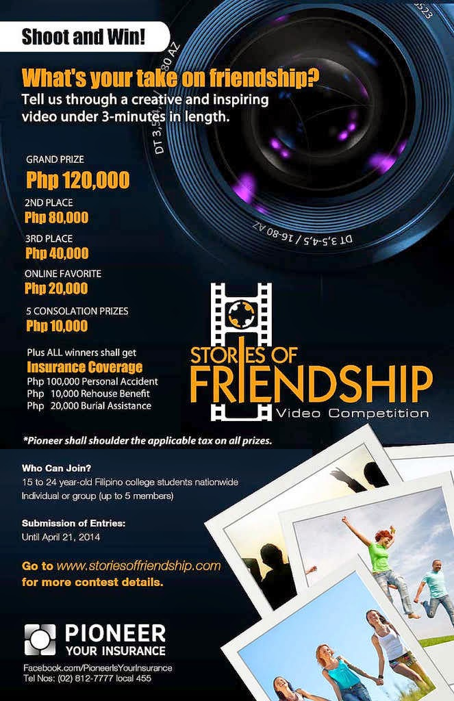 Pioneer Stories Of Friendship Video Competition