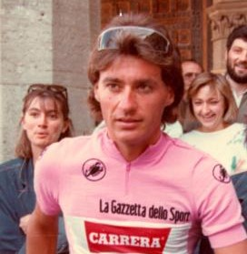 Roberto Visentini had the reputation of a  playboy in a working-class sport