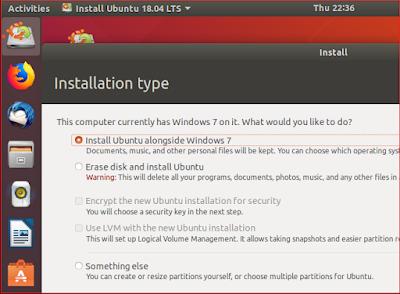 تثبيت Linux على جهاز الكمبيوتر