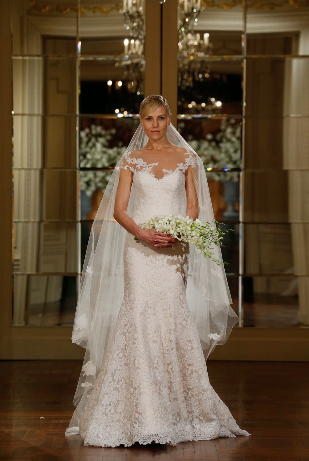 ab0de5b35abc Legends by Romona Keveza Spring 2015 Wedding Dresses - Runway ...